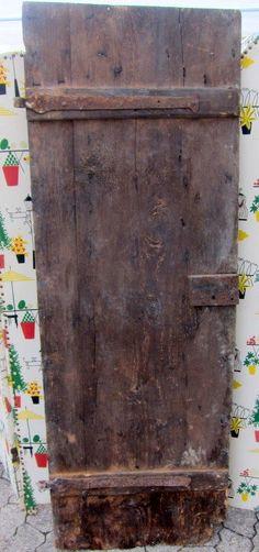 alte antike Tür Stalltür Shabby Deko alte Beschläge original Holztür                                                                                                                                                                                 Mehr