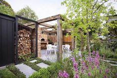 Pergola For Small Backyard Key: 6224984297 Patio Pergola, Deck With Pergola, Pergola Shade, Pergola Plans, Pergola Kits, Backyard Landscaping, Pergola Ideas, Modern Pergola, Cheap Pergola