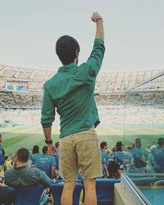 Porque sou pé quente!   #Rio2016 #EuSouTimeBrasil