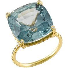 Sapphire Love - even just a blue topaz would work