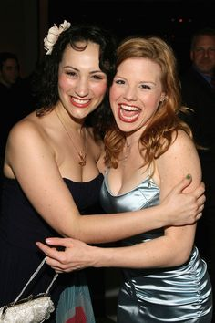 Eden Espinosa and Megan Hilty - best Elphaba and Glinda IMO <3