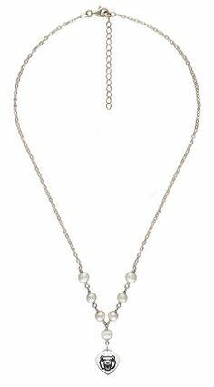 Jewel Tie 925 Sterling Silver California State University Fresno Medium Pendant