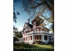 Villa Montana is a stunning Queen Ann/Colonial Revival Home in the heart of Bozemans Historic District. Designed by famous European-American Architect, John Link, in 1904 and completely renovated with a new addition in 1999 by Bozeman architect, Thomas Bitnar. (This home is for sale: please call Taunya Fagan 406.579.9683 for details.)