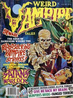 Weird Vampire Tales - Vol. #5 Issue #2 (Aug. 1981)