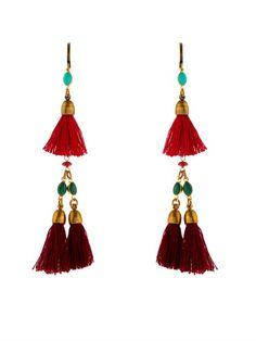 Isabel Marant Mild tassel drop earrings