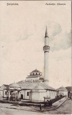 Bosnia Serbia Banja Luka Banjaluka БАЊА ЛУКА Mosque 1908 Used Postcard   eBay