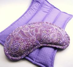 Heating Pads Microwaveable Eye Pillow Therapy by theferriswheels, $21.95