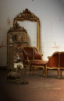 Love all the french antiques