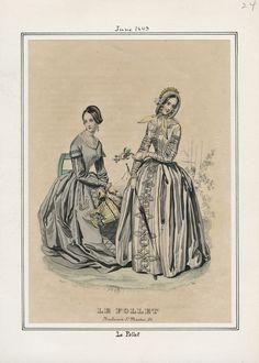 Le Follet June 1843 LAPL