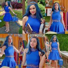 Descendants Wicked World, Descendants Characters, Evie Descendants, Disney Channel Descendants, Descendants Costumes, Evie Costume, Mal And Evie, Decendants, Disney Inspired Outfits