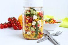 Stoneware mit Herz: Salat ♡ Kunterbunt