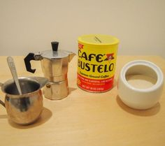 Step-by-step Cuban coffee tutorial to get your morning wake up!