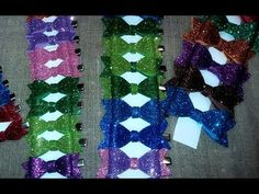 DIY:Бантики-заколочки из фоамирана#The bows of foamiran - YouTube
