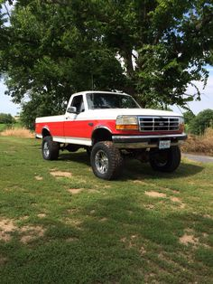 1995 Ford F150, Truck Bed Accessories, Lifted Ford Trucks, Dream Big, Ideas, Thoughts, Lifted Ford