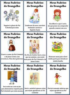 Cartões do MEUS PADROES DO EVANGELHO