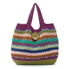 crochet bag. Cute, but the directions are in a foreign language.