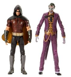 Batman Legacy Arkham City Robin And The Joker Collector Figure 2Pack >>> Visit the image link more details.