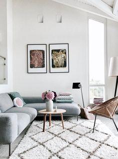 Draussen grau....drinnen bunt...   Foto von Mitglied AlMaKa #SoLebIch #interior #wohnzimmer #livingroom