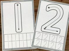 1-10 Number Formation Cards