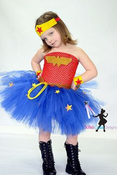 5 Year Party Ideas for Girls - Celebrat : Home of Celebration, Events to Celebrate, Wishes, Gifts ideas and more ! Wonder Woman Tutu, Crochet Tutu, Family Halloween Costumes, Halloween Ideas, Kids Dress Up, Party Decoration, Tutu Costumes, Halloween Disfraces, Tutus For Girls