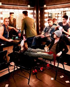 That bad boy persona! The Wanted...omg, they are hot!  smokin' hot!
