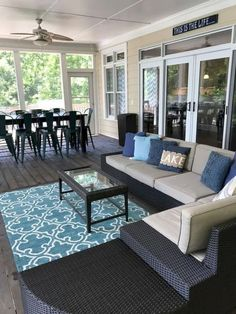 33 Ideas Enclosed Patio Ideas On A Budget Room Screened Porches For 2019 Front Porch Furniture, Small Patio Furniture, Outdoor Furniture Sets, Outdoor Decor, Furniture Ideas, Rustic Outdoor, Furniture Layout, Furniture Makeover, Adirondack Furniture