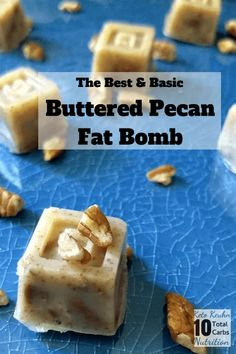Super simple Buttered Pecan Fat Bomb-Buttery nutty melt in your mouth. ingrediants Super simple Buttered Pecan Fat Bomb-Buttery nutty melt in your mouth. Keto Chocolate Fat Bomb, Low Carb Chocolate, Chocolate Recipes, Chocolate Fudge, Diet Cheesecake Recipe, Blueberry Cheesecake, Low Carb Desserts, Dessert Recipes, Candy Recipes