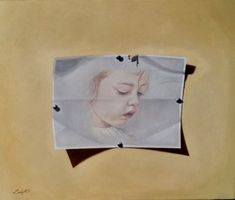 Obra denominada LOLA,realiazada en óleo sobre lienzo de lino de 54 x 65 cm. y bastidor de 2 cm.