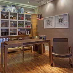 Home Office projetado pela arquiteta Celina Zappellini