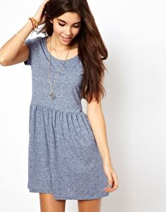 Short sleeve, jersey fabric, skater t-shirt dress. Oh gosh, I would wear this always.