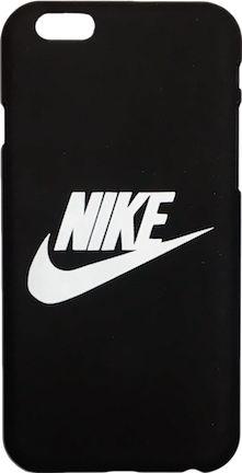 "Nike Black White ""Swoosh Logo"" Hard Plastic iPhone 6/6s Case"