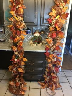 Excited to share this item from my shop: Fall Wreath Garland Fall Swag Door Swag Fall Scarecrow Door Swag Deco Mesh Garland, Fall Garland, Fall Wreaths, Burlap Wreaths, Thanksgiving Tree, Thanksgiving Decorations, Holiday Decorations, Fall Swags, Fall Scarecrows