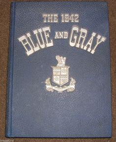 1942 ROBERT E. LEE HIGH SCHOOL Jacksonville Florida YEARBOOK Annual BLUE & GRAY