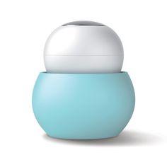 My design inspiration: Scrub Brush Blue White on Fab.