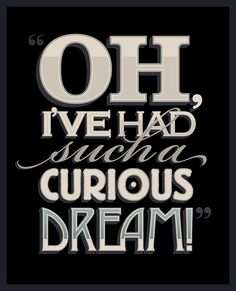 Curious Dream by Tom Davie