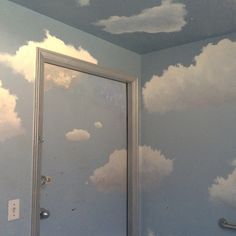 my room last night Blue Aesthetic, Aesthetic Photo, Aesthetic Pictures, Ciel, My Room, The Good Place, Just For You, Room Decor, Clouds