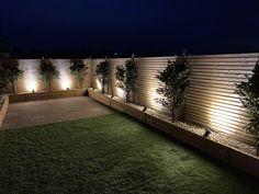 90% Complete Night Garden, Sidewalk, Walkway, Walkways