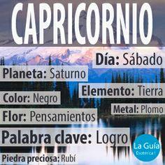Descubre más sobre Capricornio: http://www.laguiaesoterica.com/horoscopos/26-capricornio-22-diciembre-20-enero.html