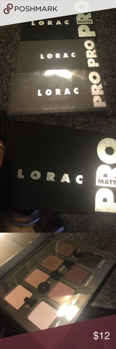 LORAC PRO MATTE One LORAC pro matte and 2 LORAC pro 2 pallets. bundle and save ! Check out my closet for more cool stuff! Lorac Makeup Eyeshadow