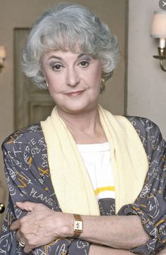Bea Arthur(1922-2009) Age 86. Lung cancer. Beatrice Arthur(bornBernice Frankel), also known asBea Arthur, was an American actress, comedian, and singer. Her career spanned seven decades.  Arthur achieved fame as the characterMaude Findlayon the 1970s sitcoms-All in the Family (1971–72) andMaude(1972–78), and as Dorothy Zbornakon the 1980s sitcomThe Golden Girls(1985–92), winningEmmy Awardsfor both roles. A stage actress both before and after her television success, she won…