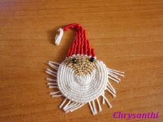 ΑΓΙΟΣ ΒΑΣΙΛΗΣ   kentise Macrame, Christmas Ornaments, Holiday Decor, Christmas Jewelry, Christmas Decorations, Christmas Decor