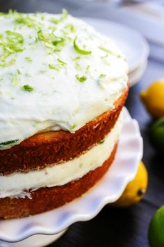This post was first seen over at Real Housemoms where I am a contributor. Lemon-Lime Layer Cake a gorgeous lemon cake with lime buttercream. An inspired twist on my hubby's favorite cookies Key Lime Sugar Cookies. A perfect combination for summer and spring. If you know me at all then you know I can eat …