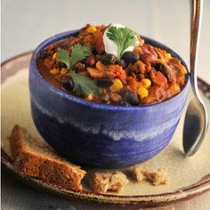 Super-Quick Vegan Black Bean Soup That's Perfect for Chilly Weeknights - SELF