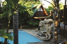 Relax at the pool at Tsitsikamma Lodge & Spa. Lodge accommodation at Storms River. Allure Spa, Mountain Range, Storms, Environment, Relax, Cabin, River, Building, Design