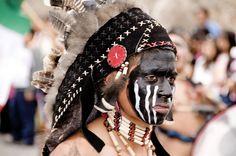 Las Mascaras de la Alborada 2011 #5  Danzante en el desfile de Alborada, San Miguel de Allende, Guanajuato, Mexico