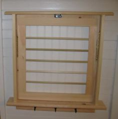 Drying Rack Laundry Drying Rack Wall Drying by BearPondWoodworks