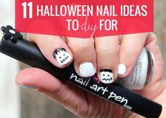 11 Halloween Nail Ideas