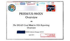 El programa PRISM se desveló luego de la filtración de un powerpoint de 41 slides.