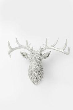 ΑΡΧΙΚΗ ΣΕΛΙΔΑ :: Διακοσμητικά Είδη :: Διακοσμητικά Τοίχου :: Διακοσμητικό Τοίχου  Antler Deer Roses Chrome