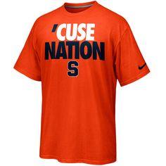 Nike Syracuse Orange Rise & Roar 'Cuse Nation T-Shirt - Orange Size XXL